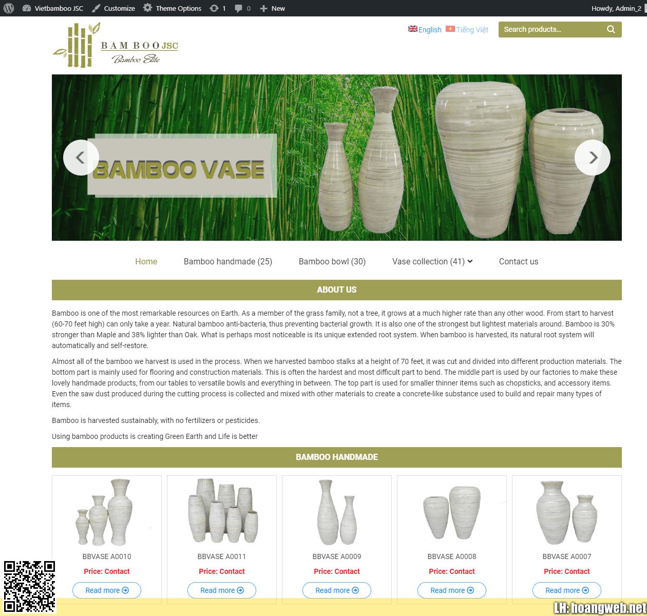 Web bán đồ gốm xứ thumbnail