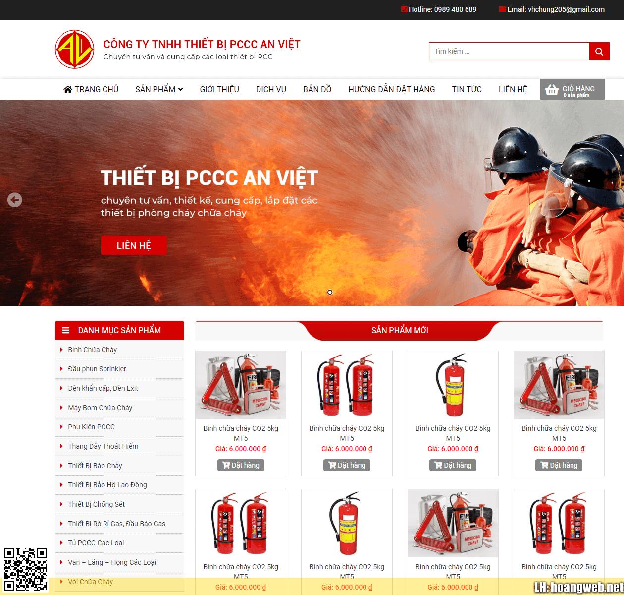 Web thiết bị chữa cháy thumbnail