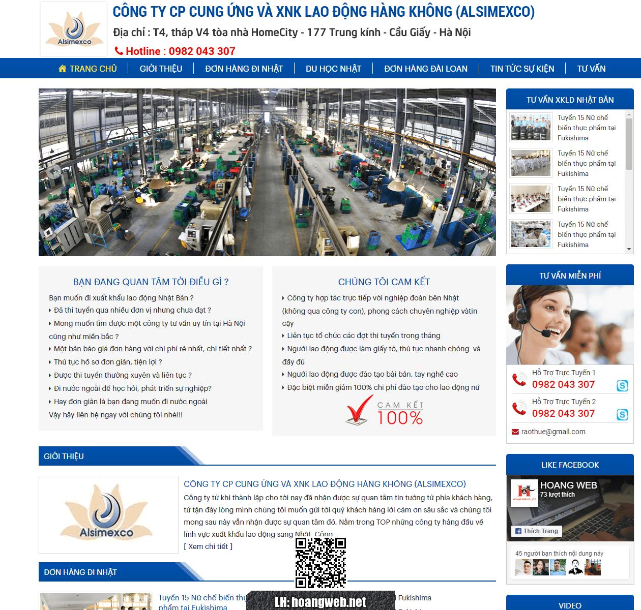Mẫu web giới thiệu công ty 4 thumbnail